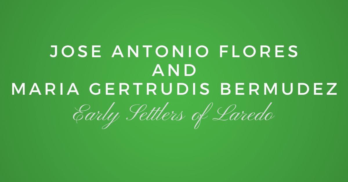 Jose Antonio Flores and Maria Gertrudis Bermudez