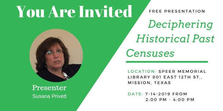 "Presentation ""Deciphering Historical Past Censuses"""